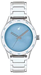 Fastrack Monochrome Analog Blue Dial Womens Watch - 6078SM03