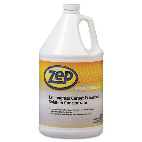 Zep Professional - Carpet Extraction Cleaner, Lemongrass, 1Gal Bottle R00624 (Dmi Ea