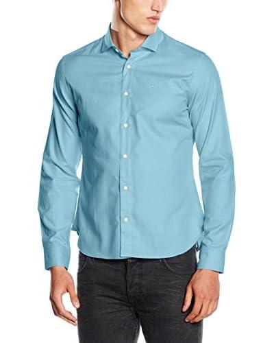 Fyord Camisa Hombre Azul