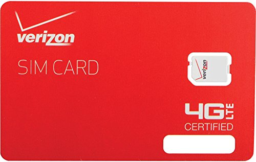$45 Verizon Prepaid Nano Simcard First Month Included