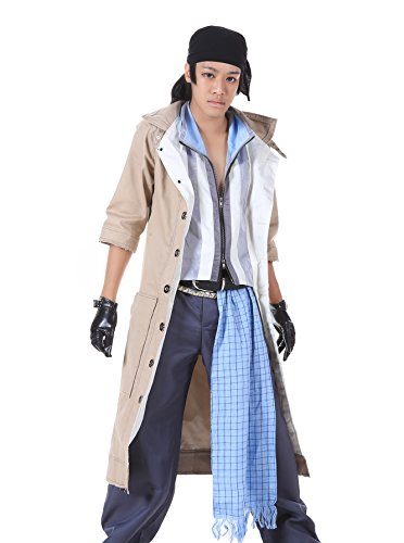 [ICEMPs Final Fantasy XIII Cosplay Costume Snow Villiers Outfit 1st Ver Set Kid S] (Final Fantasy Comic Con Costumes)
