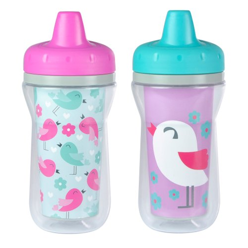The First Years The First Years Insulated Spill-Proof Sippy Cup with One Piece Lid, 2 Count (Styles may vary) (Discontinued by Manufacturer)