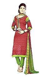 Sagi Women's Cotton Silk Unstitched Dress Material (SDDM-04_Multi_Free Size)