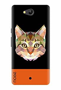 Noise Designer Printed Case / Cover for Lyf Wind 4 / Animated Cartoons / Crystal Cat Design