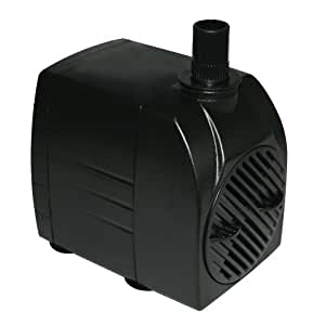 Supreme Hydroponics 40333 Submersible In Line Pump 530 Gallon Pond Water Pumps