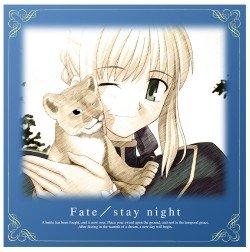 Fate stay night  セイバークッションカバー
