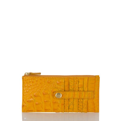 Credit Card Wallet<br>Melbourne Saffron