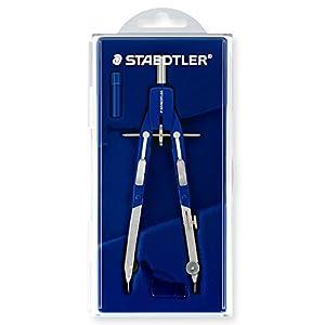Staedtler - Set de dibujo: compás, adaptador, tubo de minas y piezas de recambio (552 01)