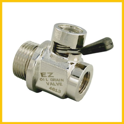 Ez (Ez-111) Silver 14Mm-1.25 Thread Size Oil Drain Valve
