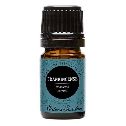 Frankincense (Boswellia serrata) 100% Pure Therapeutic Grade Essential Oil by Edens Garden- 5 ml