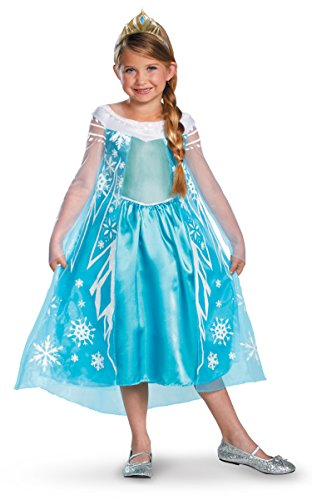 Elsa Snow Queen Deluxe Disney Frozen Costume 56998