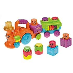 Fisher Price Stack n Action Choo Choo
