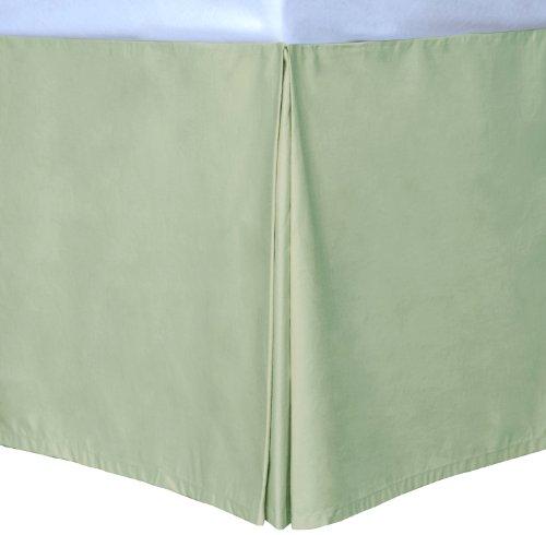 Sage Twin Cottonloft Colors Bed Skirt front-969972