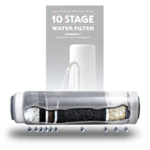 New Wave Enviro 10 Stage Water Filter Replacement Cartridge by New Wave Enviro