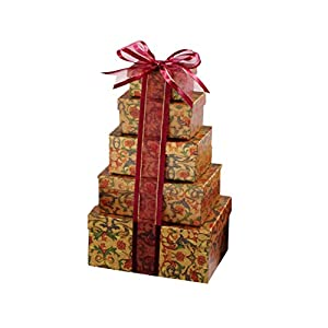 Broadway Basketeers Thinking of You on the Holiday Gift Tower