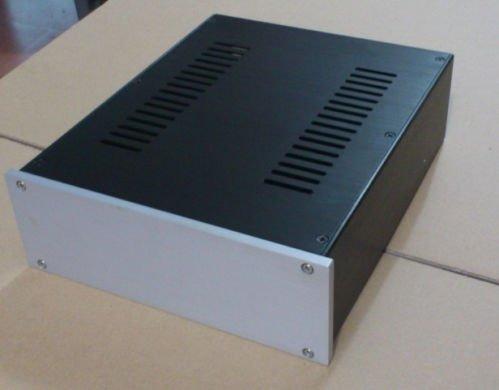 Full Aluminum Chassis Case Enclosure Preamp/Headphone/Amplifier 260*90*311Mm