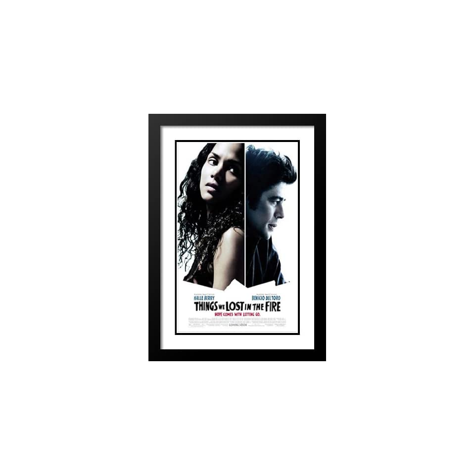 Things We Lost in the Fire 20x26 Framed and Double Matted Movie Poster