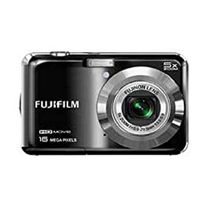 Fujifilm FinePix AX650 16-Megapixel Digital Camera - Black