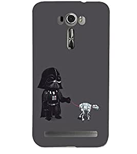 PRINTSHOPPII FUNNY CARTOON Back Case Cover for Asus Zenfone 2 Laser ZE601KL::Asus Zenfone 2 Laser ZE601KL (6 Inches)