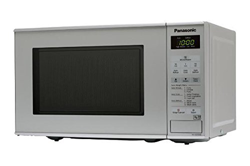 Panasonic NN-E281MMBPQ 20 Litre Compact Microwave. Silver