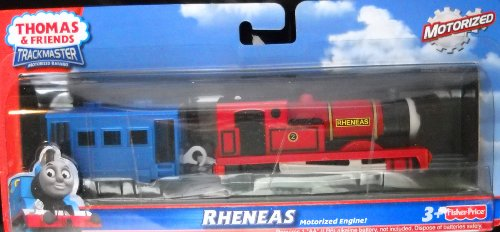 Thomas and Friends Trackmaster Motorized Railway Battery Powered Tank Engine 2 Pack Train Set - RHENEAS the