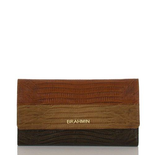 Soft Checkbook Wallet<br>Vineyard Cognac