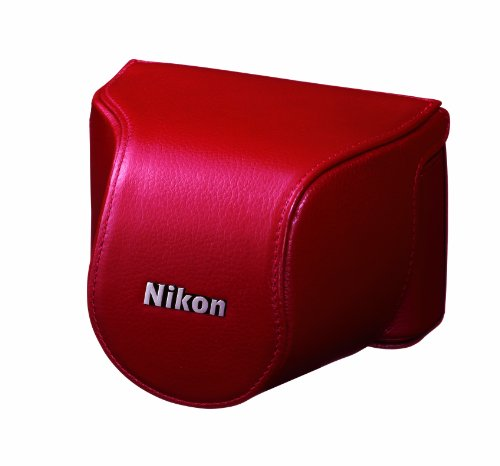 Nikon CB-N2000SE Body Case Set for Nikon 1 J1 - Red Black Friday & Cyber Monday 2014