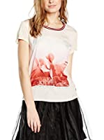 Maison Scotch Camiseta Manga Corta (Crudo)