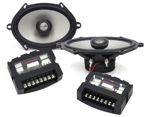 "D673A - Diamond Audio 5""X 7"" / 6""X 8"" Convertible Speaker System With Aluminum Tweeters"
