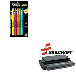 KITSAN28175PPSKLE40 - Value Kit - NIB - NISH 751000NSH0135 Compatible Reman High-Yld 1491A002AAE40 Toner (SKLE40) and Sharpie Retractable Highlighters (SAN28175PP)