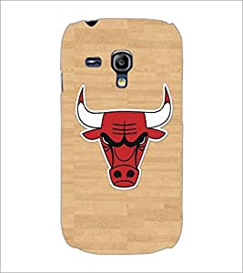 PRINTSWAG BULL Designer Back Cover Case for SAMSUNG GALAXY S3 MINI