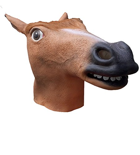 Latex Horse Head Masks Horse Costume Decorations Party