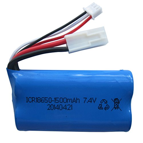 Holy Stone Upgraded 7.4V 1500mAh Lipo Battery for Feilun FT009 RC Boat Spare Parts