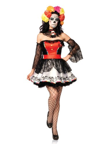 Leg Avenue - Sugar Skull Beauty Adult Costume