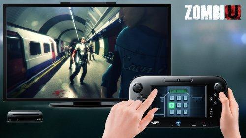Console Nintendo Wii U 32 Go noire – 'Zumbi U' premium pack