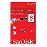Sandisk 8GB MicroSDHC Micro SD HC Memory Card Stick For Samsung Ch@t 357 Mobile Phone