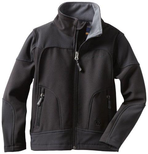 Urban Republic Little Boys' Little Boy 2177KB Soft Shell Jacket, Black, 4