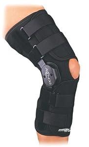 DonJoy Drytex Playmaker Wraparound Knee Brace w cutout Medium by Donjoy