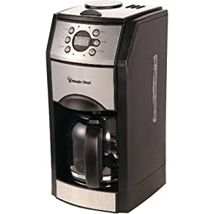 Amazon.com: Magic Chef MCSCM10PGBST 10-Cup Grind and Brew Coffee Maker: Kitchen & Dining