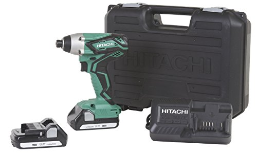 hitachi-wh18dgl-18-volt-1-4-inch-cordless-lithium-ion-impact-driver-kit-lifetime-tool-waranty