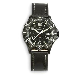 Dakota Tritium Leather Watch