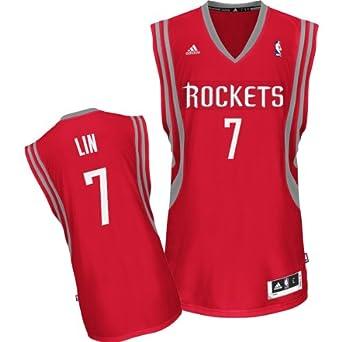 Jeremy Lin Houston Rockets RED NBA Youth Swingman Revolution 30 Jersey by adidas