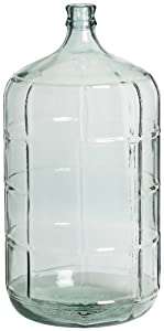 Paklab Glass Carboy 23 Liter, 1.9-Pound Box