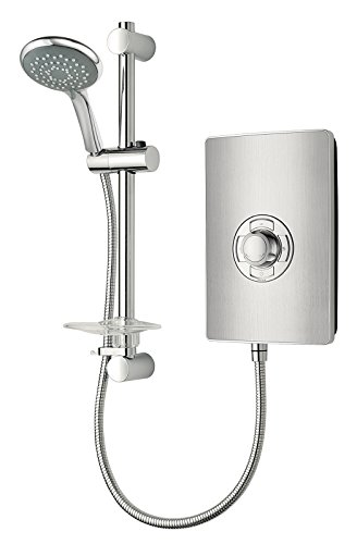 Triton Collection II 8.5kW Electric Shower - Brushed Steel Effect