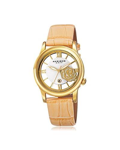 Akribos XXIV Women's AK837TN Blue/Gold and White Base Metal Watch As You See