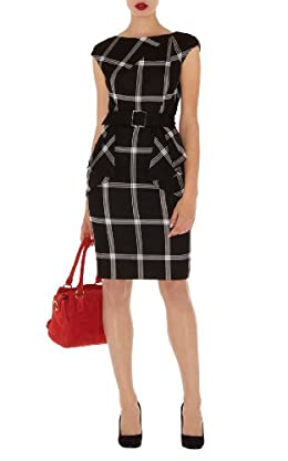 Graphic Check Dress