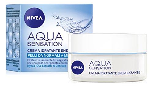 Nivea Visage Caring Aqua Sens Crema Energi 50Ml