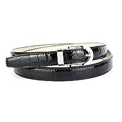 Anthoni Crown Leather Ladies Belt 0,8