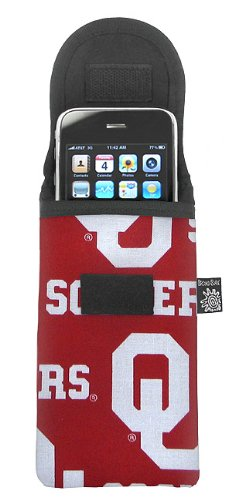 University of Oklahoma Phone Case Glasses Holder OU Logo Fits APPLE IPHONE TOUCH Samsung LG Nokia and more
