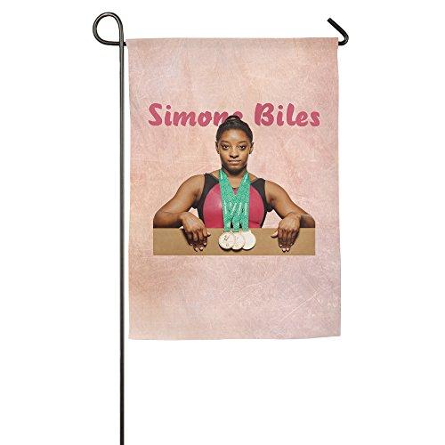 Bro-Custom Simone Biles American Proud Decorative Garden Home Flag Bar Flag 18*27inch